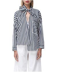 Shakuhachi - Jail Bird Stripe Shirt - Lyst
