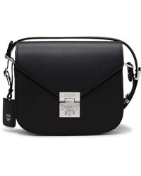 MCM - Patricia Shoulder In Grained Leather - Lyst
