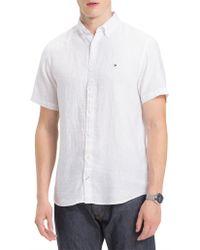 Tommy Hilfiger - Windsurf Linen Shirt S/s - Lyst