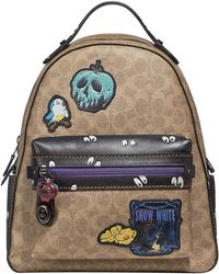 COACH - Disney X Campus Backpack In Signature Patchwork - Lyst