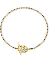 Gucci - Running G Collection Bracelet - Lyst