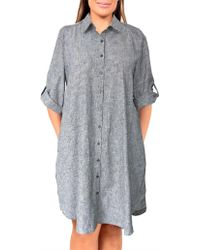 Wite - 3/4 Sleeve Afternoon Dress - Lyst