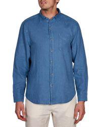 Tommy Bahama - Long Sleeve Seaspray Breezer Shirt - Lyst