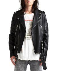 Ksubi - Loathing Biker Jacket - Lyst