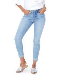 NYDJ - Ami Skinny Ankle Jean With Cuff - Lyst