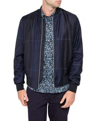 Paul Smith - Check Bomber Jacket - Lyst