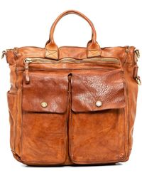 Campomaggi - Shopper Leather Bag - Lyst