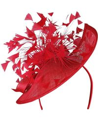 Morgan Taylor - Sin Teardrop Plate With Feather Spray And Sin Bow - Lyst
