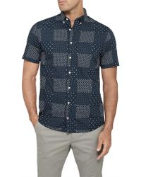 Tommy Hilfiger - Ss Printed Patchwork Rf3 - Lyst