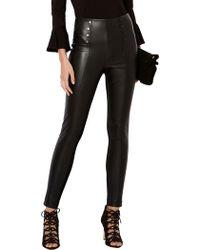 Karen Millen | Faux Leather Leggings | Lyst