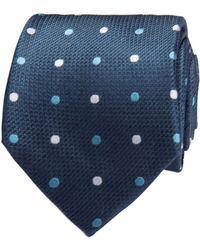 Geoffrey Beene - Multi Coloured Spot Tie - Lyst