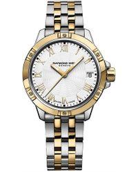 Raymond Weil - Tango Quartz Watch - Steel/yellow - Lyst