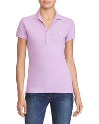 Polo Ralph Lauren - Julie Skinny Short Sleeve Knit - Lyst