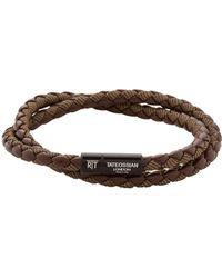 Tateossian - Double Wrap Chelsea Bracelet - Lyst