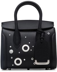 Alexander McQueen - Sweet Calf/studs/laces The Cove Hobo - Lyst