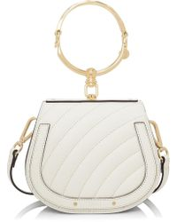 Chloé - Small Nile Quilted Braclet Bag - Lyst