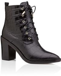Zimmermann | Lace Up Dress Boot | Lyst