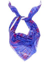 Anna Coroneo - 100% Silk Chiffon Scarf - Lyst