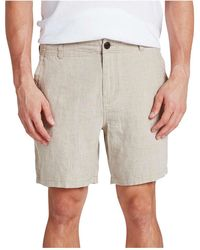 The Academy Brand - Marco Linen Short - Lyst