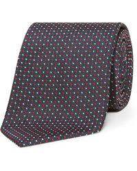 BOSS - 2 Colour Spot Tie - Lyst