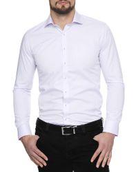 Geoffrey Beene - Transport Twill Body Fit Shirt - Lyst