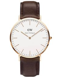 Daniel Wellington - Classic Bristol 40mm Rose Gold - Lyst