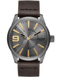 DIESEL - Rasp Brown Watch - Lyst