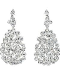 Jan Logan - 18ct Diamond Barcelona Earrings - Lyst