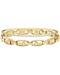 Michael Kors - Premium Gold Bracelet - Lyst