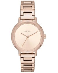 DKNY - The Modernist Rose Gold Watch - Lyst
