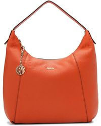 DKNY - Tribeca Large Hobo - Lyst