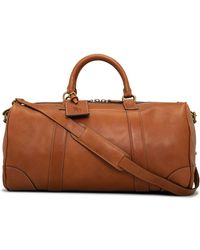 Polo Ralph Lauren | Smooth Leather Duffle | Lyst