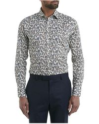 Simon Carter - China Dog Print Shirt - Lyst