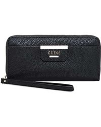 Guess | Bobbi Large Zip Around Wallet | Lyst