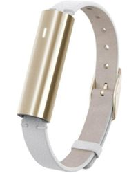 Misfit - Unisex Ray White Leather Band Activity Tracker 12x38mm Mis1004 - Lyst