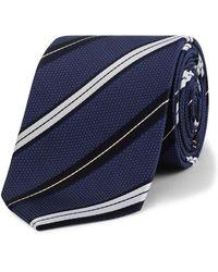 Calvin Klein - Pindot Stripe Tie - Lyst