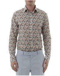 Simon Carter - Liberty Reef Print Single Cuff Shirt - Lyst