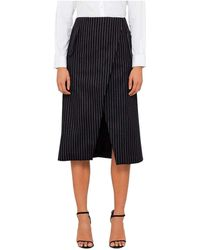 Josh Goot - Tailored Wrap Skirt - Lyst