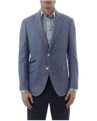 Simon Carter - Textured Jacket - Lyst