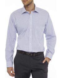 Geoffrey Beene | Langley Check Regular Fit Shirt | Lyst