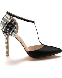 Shoes Of Prey - Pointed Toe Double D'orsay With Ankle Strap - Lyst