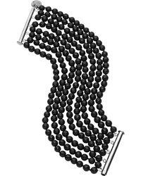 Jan Logan - 8 Row Faceted Mae Bracelet - Lyst