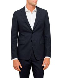 Geoffrey Beene | Textured Plain Travel Jacket | Lyst