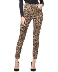 GOOD AMERICAN - Good Waist Leopard-print High-rise Skinny Jeans - Lyst