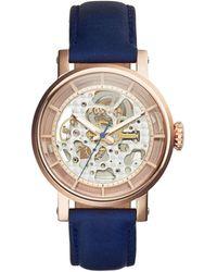 Fossil - Original Boyfriend Blue Watch - Lyst