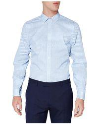 Ben Sherman - Ls Stripe Gingham Camden Shirt - Lyst