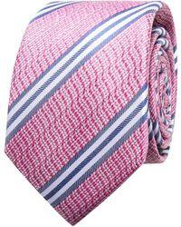 Geoffrey Beene - Textured Stripe Tie - Lyst