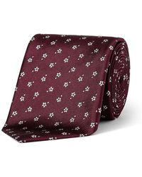 Paul Smith - Small Floral Tie - Lyst