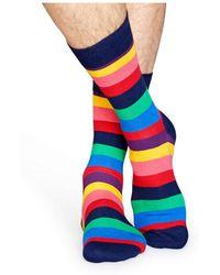 Happy Socks - Stripe - Lyst