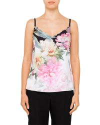 Ted Baker - Cernia Painted Posie Cami - Lyst